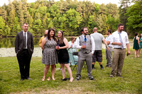 Reception Candids and Games - outdoors